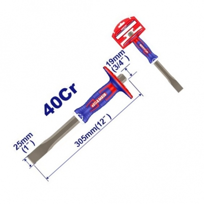 Cincel Plano C/prot Mano Indust.barra 19mm Emtop Eccl251902