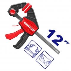 Prensa Rapida Clamp 63x300mm Emtop Eclpq60201