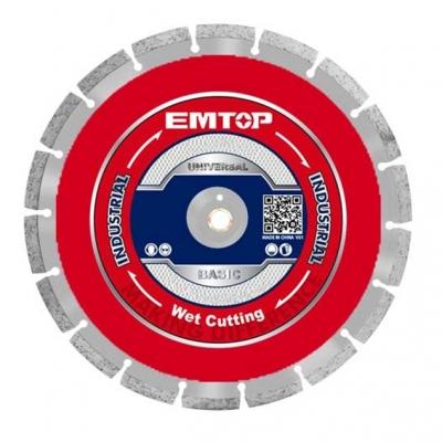 Disco De Wida Segmentado Industrial 230mmx22mmx10mm Emtop Eddc012301
