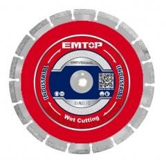 Disco De Widia Corte Hormigón Industrial 405mmx25.4mmx10mm Emtop Eddc044052
