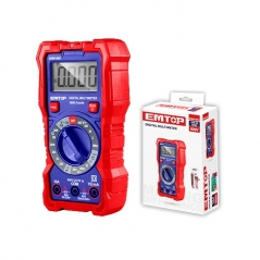 Multimetro Digital Lcd Ac-dc 600v Emtop Edmr16001