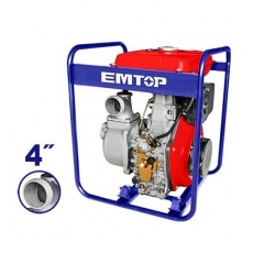 Motobomba De Agua Diesel 4 Pulg 8,3hp 418cc Emtop Edwp10011
