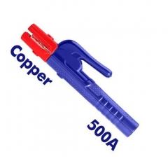Pinza Portaelectrodos Mordaza De Cobre 500a Emtop Eehr5001