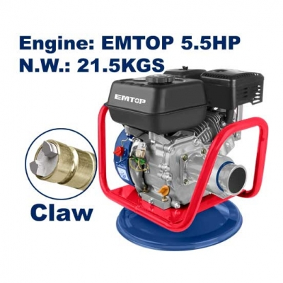 Vibrador De Hormigón Industrial A Nafta 5,5hp Emtop Egcv5502