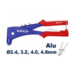 Remachadora Pop Industrial 10.5 Pul 2.4-4.8mm Emtop Ehrr103