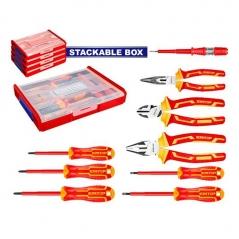 Set 9pz 1000v  Industrial En Box Apilable Emtop Ehtsv01h09