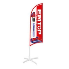 Banner Tipo Bandera 2,8m Emtop Epmpfb01