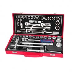 Juego De Tubos 24pz 10-32mm 1/2pul Cj.metalica Industrial Emtop Eskt12243