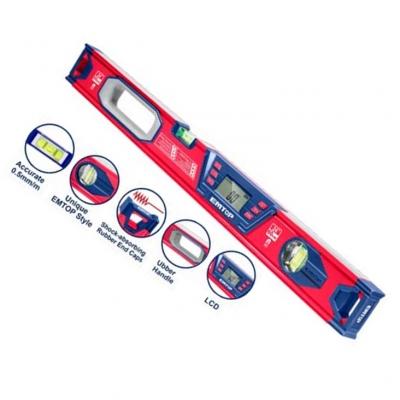 Nivel De Burbuja 60cm Industrial Magnetico Emtop Esll46001