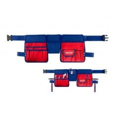 Cartuchera Portaherramientas C/cinturon Ajustable 14 Bolsillos Emtop Etbg48024