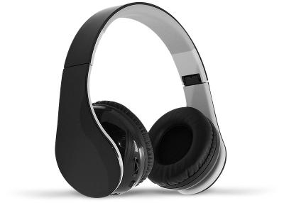 Auricular Inalámbrico (bt) Plegables Con Controles Digitales Y Mic. (negro) Fullenergy