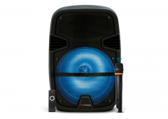 Bafle Plástico Fullenergy Activo 12'' Pro (mic Inalámbrico / Bat. Rec. / Luces Led / Bt)
