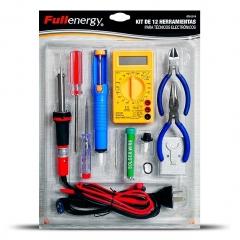 Kit De 12 Herramientas Para Técnicos Electrónicos 070-2014