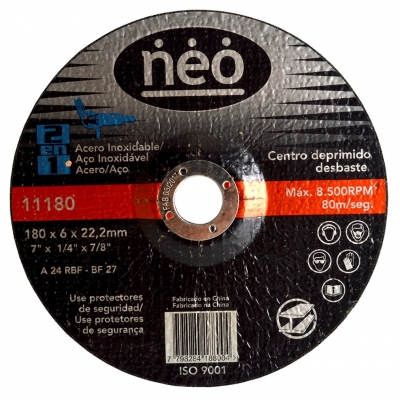 Disco De Desbaste Neo 180x6mm