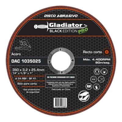 Disco Para Sensitiva 350x3.2x25,4mm Gladiator