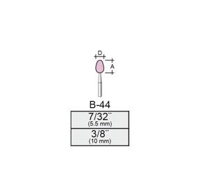 Punta Montada B44 – 6x11 – Vástago 1/8 (3,17 Mm)