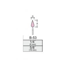 Punta Montada B53 – 8x16 – Vástago 1/8 (3,17 Mm) Rosa