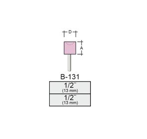 Punta Montada B131 – 13x13 – Vástago 1/8 (3,17 Mm) Rosa