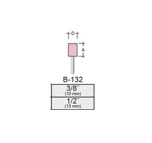 Punta Montada B132 – 11x13 – Vástago 1/8 (3,17 Mm) Rosa