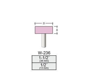 Punta Montada W236 – 38x13 – Vástago 1/4 (6,35 Mm)