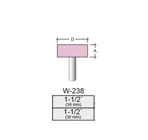 Punta Montada W238 – 38x38 – Vástago 1/4 (6,35 Mm)
