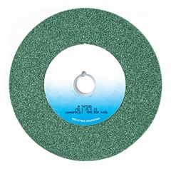 Rueda Recta  Tipo 1  203 X 19.1 X 19,1 Carb.silc.verde G80j