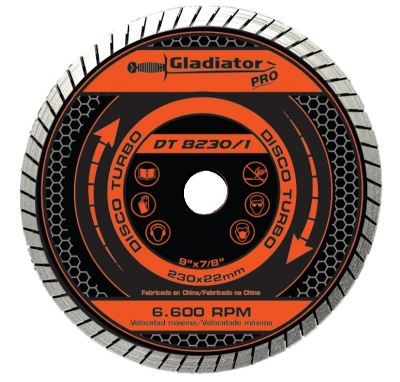 Disco De Widia Gladiator 115 Mm Turbo