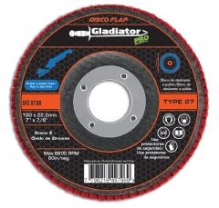 Disco Flap Zirconio Gladiator 180mm Gr.36