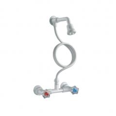 Mezclador Ducha Exterior Itepa C/duchador Y Asas