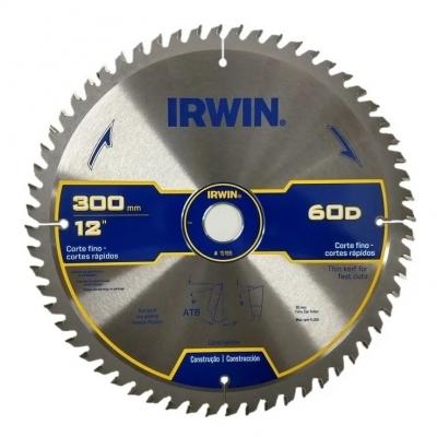 Sierra Circular 300mm 60 Dts Irwin 15189