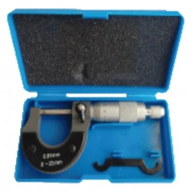 Micrometro De Acero 0-25 Mm