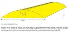 Lomo De Burro 120x23mm Amarillo X Metro