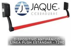 Dispositivo Antipanico Linea Push -hoja Simple Con Cilindro Tipo Yale
