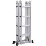 Escalera Multifuncion Aluminio Plegable 3,7mts 4x3