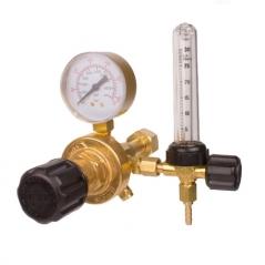 Válvula Reguladora De Presión Para Co2 C/caudalímetro De Bronce