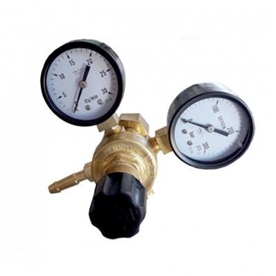 Válvula Reguladora De Presión P/co 2 Con 2 Manómetros Micro