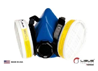 Respirador Media Cara 9000e Reutilazable Libus 901793