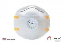 Mascarilla N95 1740 C/valvula Libus 901799