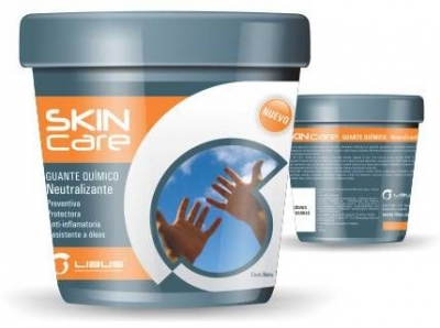 Guante Quimico Neutralizante Skin Care X 120grs Libus 902471