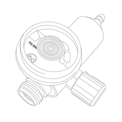 Regulador De Caudal M715-0.3lpm 904308
