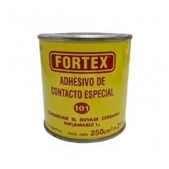 Adhesivo De Contacto Fortex 101 X 250cc