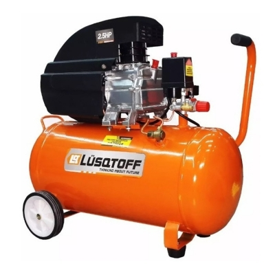Compresor Lusqtoff 50litros 2,50hp Con Kit