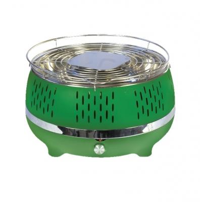 Parrilla De Mesa Color Verde Parm-40v