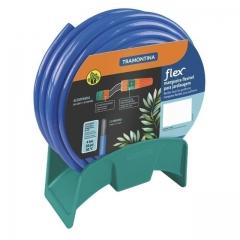 Rollo Manguera Tramontina Flex Azul 1/2 X 20mts C/soporte 79320/202