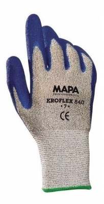 Par De Guante Anticorte Kroflex 840, Latex Rugoso.