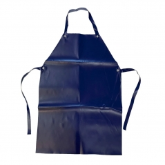 Delantal Pvc Negro O Azul 70x1.10mts Promaxx