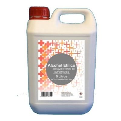 Alcohol Etilicox 5 Lt