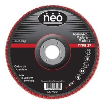 Disco Flap 180mm Neo Ox.al Gr.80