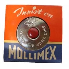 Cinta Metrica Redonda 2mts Mm/pulgada  Mollimex Acero Inox