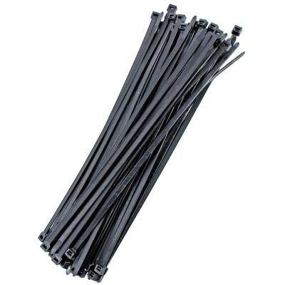 Precintos De Nylon Negro 3,6x250mm